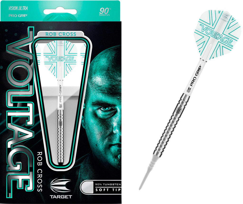 TARGET Softdarts Rob Cross Voltage Soft  Dart  Soft Pro Grip E-Dart - 19g 79fd4f