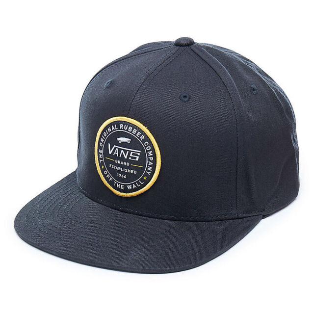 Vans MN Etablished 66 ajustable gorra Béisbol negro Va36yxblk  eb7f600c07c