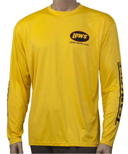 Lew/'s Lews Gold Small Micro Fiber Shirt NEW FREE US Shipping