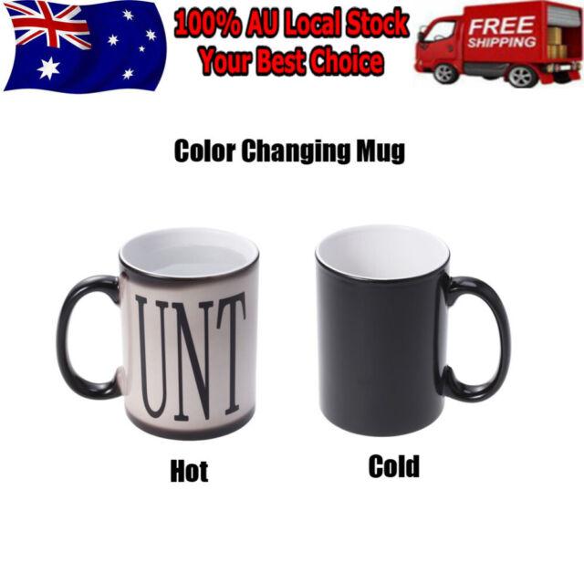 Fashion Practical Magic Coffee Mug 350ML Color Change Ceramic Cup for Milk Juice
