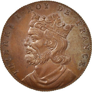 #410161 Copper Medal Thierri I History Ms Xixth Century 32 And To Have A Long Life. France 64