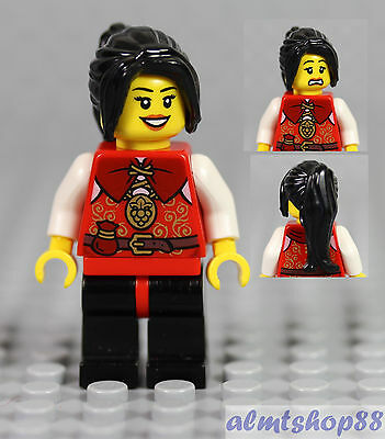 Brown Princess Castle City Wavy Female No 4 *NEW* LEGO 1x Minifig Wig Hair