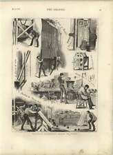 1875 Behind-the-scenes Working Theatrical Meteorology Thunderclaps Rain