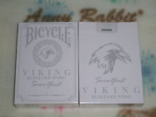 1 DECK of Bicycle viking snow ghost Playing Cards