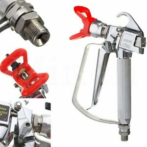 NEW-3600-PSI-Airless-Paint-Spray-Gun-with-Tip-amp-Tip-Guard-For-Sprayers