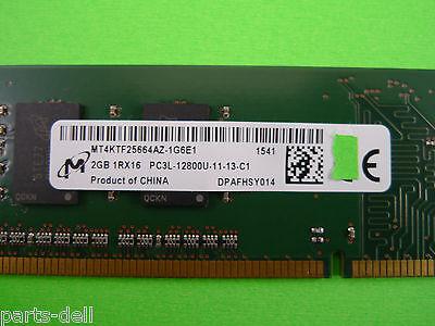 Micron 2GB 1RX16 PC3L-12800U DDR3 LOW VOLTAGE Memory RAM MT4KTF25664AZ-1G6E1