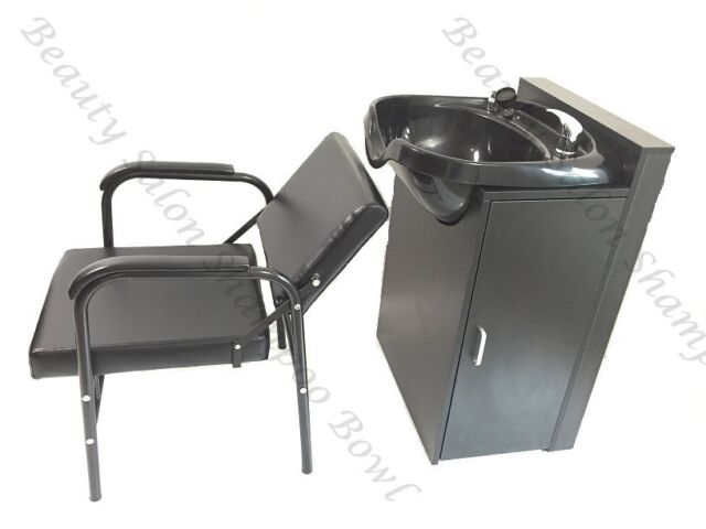 Round ABS Plastic Shampoo Bowl Cabinet Salon Shampoo Chair TLC-B12-FC-216A