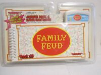 Tiger Family Feud Electronic Handheld Game Answer Book & Cartridge 3 Sealed