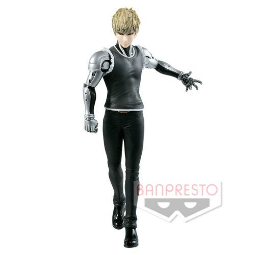 One Punch Man Genos DXF Premium Figure Banpresto 100/% Authentic