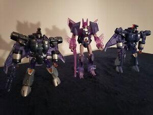 Hasbro Transformers Platinum Edition Armada of Cyclonus Scourge Sweep Figures