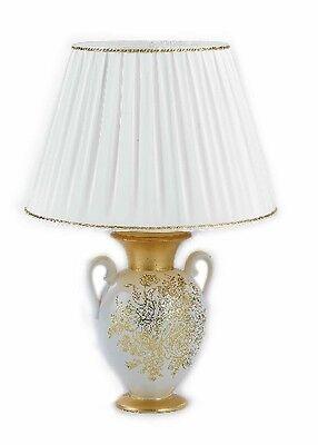 Lume 1 Luce Via Veneto Ceramica Oro Soprammobile Arredo Casa Cucina Salotto Negozio Online