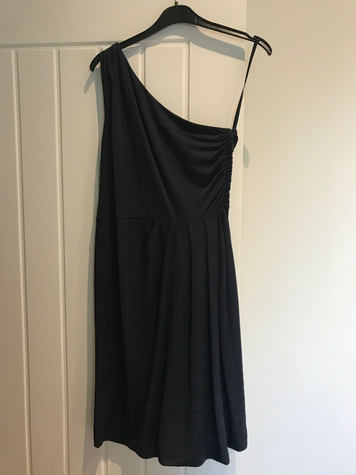 Marc Jacobs bluee Off Shoulder Dark bluee Dress - Small - New With Tags