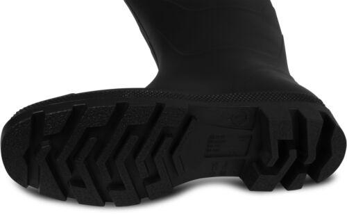 Farmer Stiefel Anglerstiefel Gummistiefel aus weichem PVC Ohne Verschluss