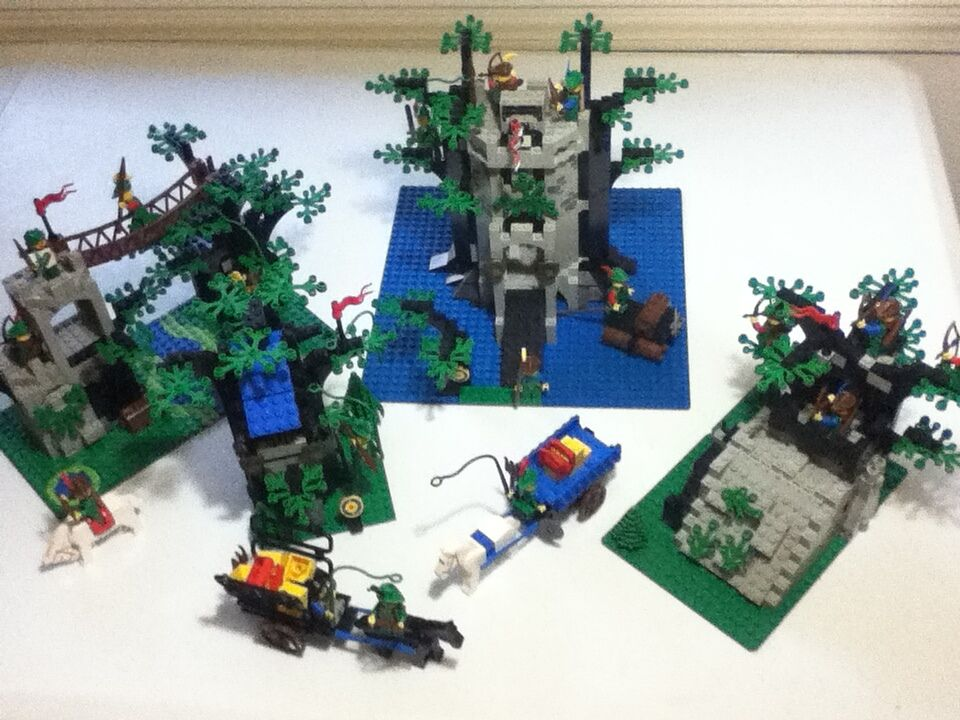 Entire Lego Forestmen Collection, all 6 sets 100% complete with instructions
