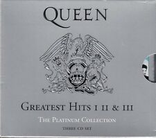 Queen Platinum Collection 3CD Boxset Greatest Hits I/ II / III Best Of  FASTPOST