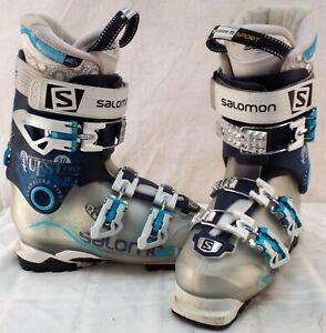 Details about Salomon Quest Pro 80 Used Women's Ski Boots Size 23.5 #633389
