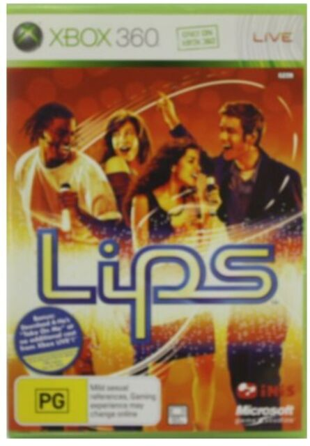 Lips: (Microsoft Xbox 360, 2009) VG Condition Free Postage