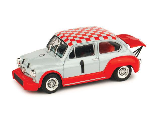 Fiat Abarth 1000 Coppa Carri Monza Monza Monza 1970 1 43 2004 R371 BRUMM 55aad2
