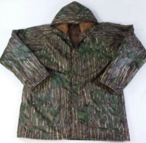 6f7d2c0700 Image is loading Insulated-Thermal-Coat-Waterproof-Realtree-Rain-Coat-PVC-