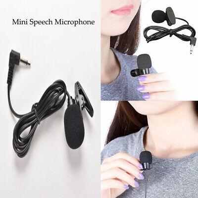 Mini Portable Mikrofone Revers Krawatte Metallclip Halter für Lavalier