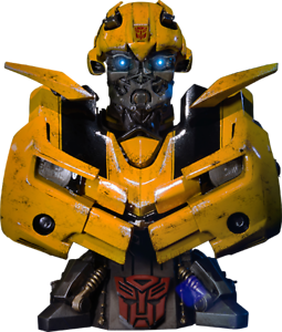 Transformers Bumblebee Polystone Premium Bust First 1 Sideshow Statue Pbtfm-06
