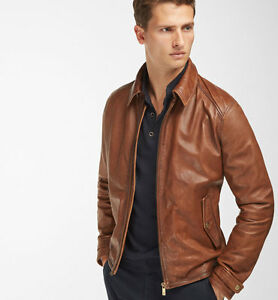 Image is loading MASSIMO-DUTTI-MEN-039-S-FW-2017-BROWN-
