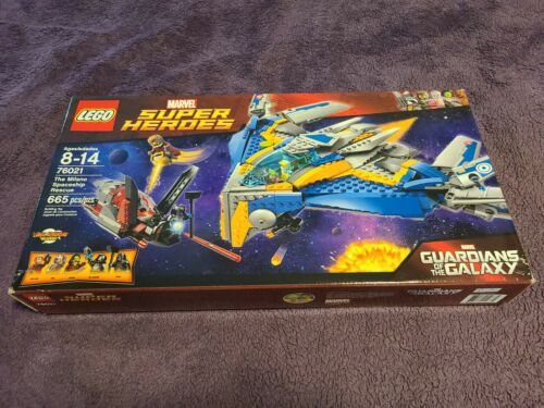 LEGO76021 Guardians of the Galaxy The Milano Spaceship Rescue BNIB Free Shipping