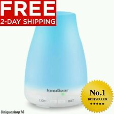 InnoGear MT-039 7 Color LED Light Essential Oil Diffuser - White