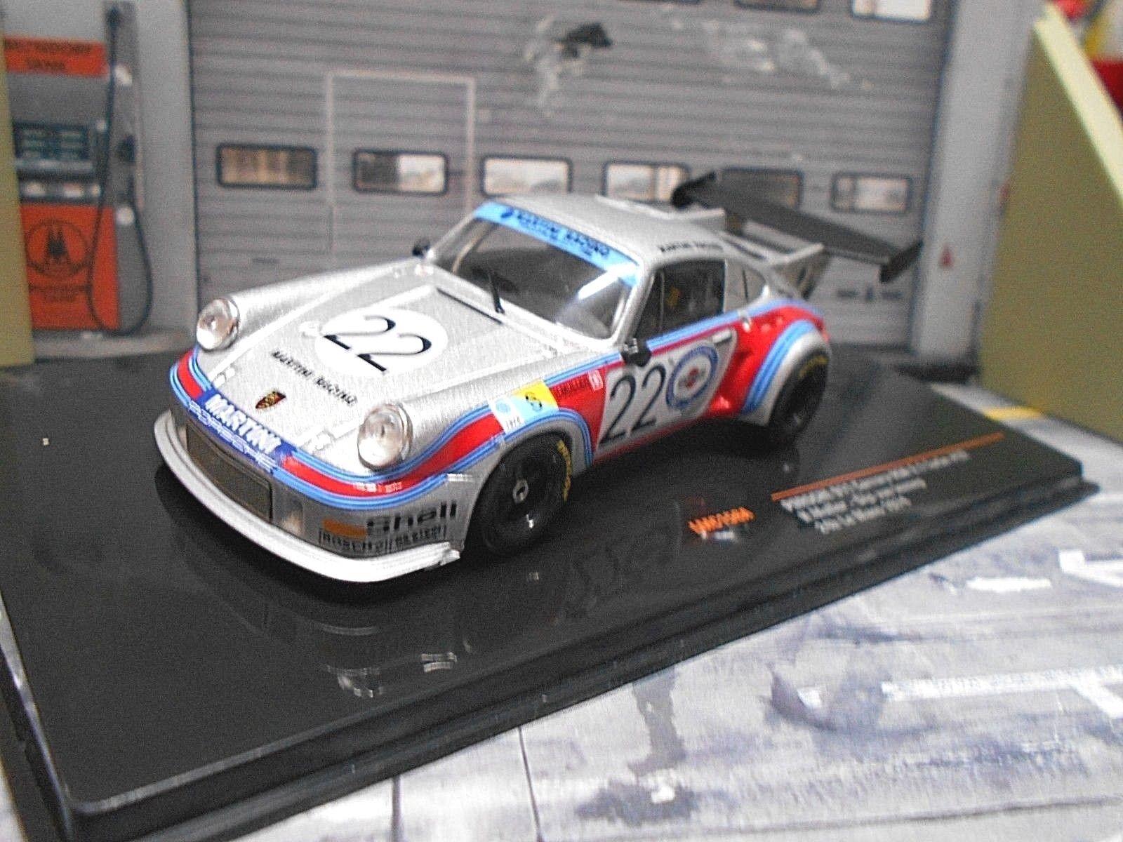 PORSCHE PORSCHE PORSCHE 911 Carrera 2.1 RSR Turbo Le Mans 1974  22 Müller Lennep Martini I 1 43  | Sale Düsseldorf  56efb3