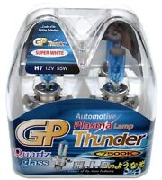 Gp Thunder™ 7500k H7 Super White Light Bulbs For Headlamp Fog Bmw Mecedez Honda