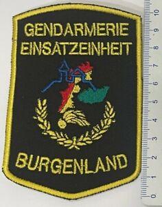 Patch - Gendarmerie Einsatzeinheit Burgenland