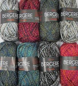 Bergere De France Chatelle Yarn Various Shades 50g Balls Ebay