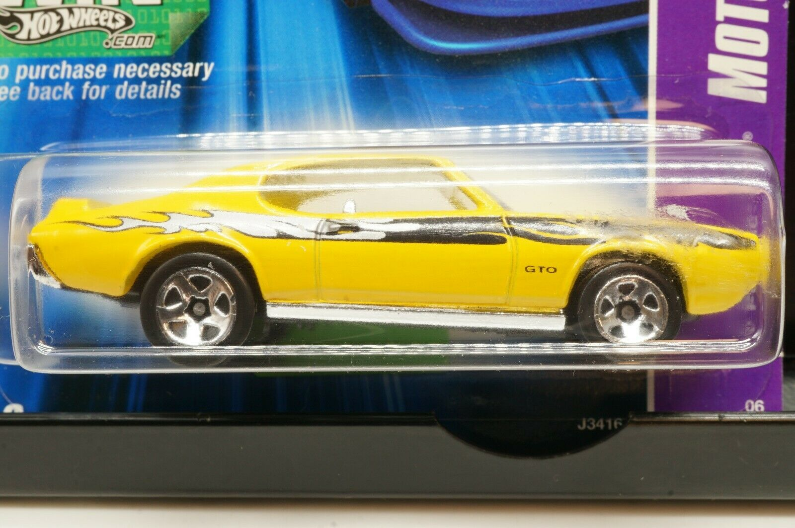 YELLOW 1969 69 FORD MUSTANG 2007 NEW MODELS HOT WHEELS 1//64 DIECAST CAR