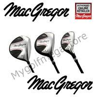 Macgregor Cg1900x Wood Set +1 Long Or Standard Length Regular Graphite Shafts