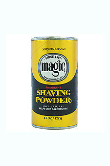 Magic Shave Fragrant Shaving Powder Gold 4 5 Oz 1 Ea For Sale