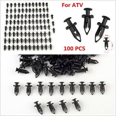 Eiger 100pcs ATV Retainer Clips Splash Guard Body Panels for Suzuki Vinson