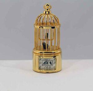 Bulova-Miniature-Colville-Bird-Cage-B0565-Bass-Clock