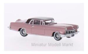 87lc56002-Oxford-lincoln-continental-MkII-rosa-rosa-oscuro-1956-1-87