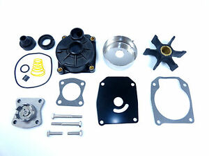 Water Pump Kit w/ Pump Housing Johnson Evinrude 40 50 55 60 1999 - 2005 5000308