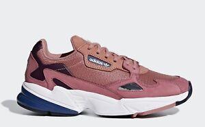 Details zu adidas Turnschuhe Falcon Schuh D69700 Damenschuh Wolkensohle rosa Original NEU