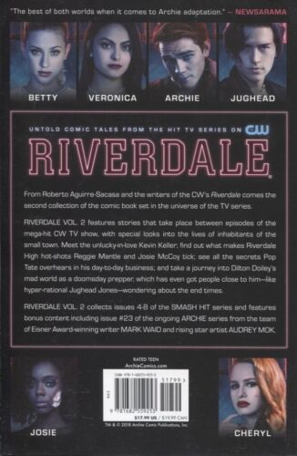 RIVERDALE TPB VOL 2 REPS #4-8 ARCHIE COMICS NEW//UNREAD