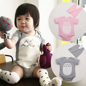 Image is loading baby-rompers-boys-girls-Totoro-outfit-Bodysuit-Costume- 087705970