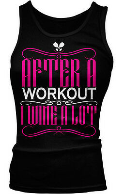 After A Workout I Wine A Lot Funny Humor Joke Exercise Vino Boy Beater Tank Top