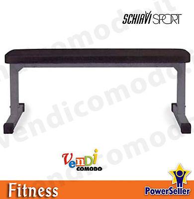 Panca Piana piano Club SCHIAVI SPORT dim 120X27X45/65h cm piano Piana imbottito fitness 32c644