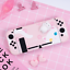Kawaii-Cat-Pink-Hard-Case-Cover-for-Nintendo-Switch-Console-Jon-Cons miniature 3