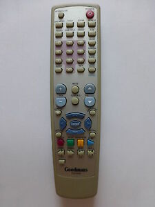 GOODMANS-TV-DVD-COMBI-REMOTE-CONTROL-for-TD1540-Battery-hatch-missing