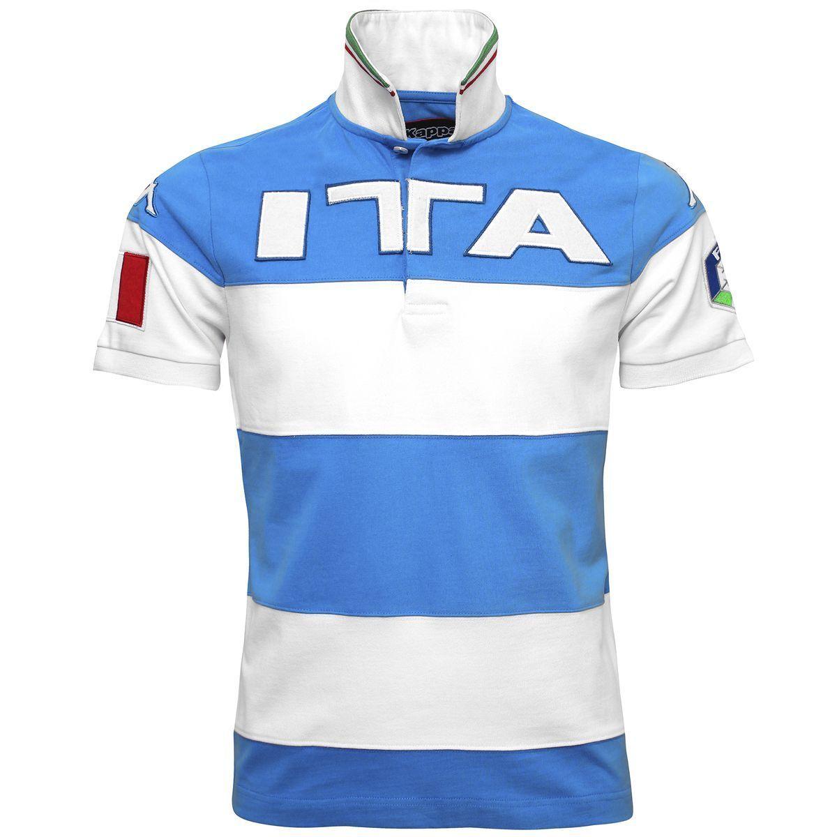 FISI KAPPA ITALY AUDI SKI TEAM POLE EROI T-SHIRT ITALIAN TEAM ITALY TEE