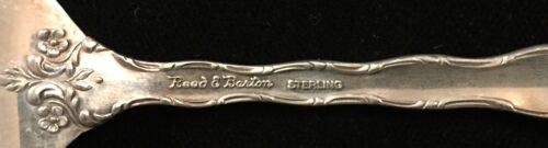 Sterling Silver Flatware Reed And Barton Tara Salad Fork