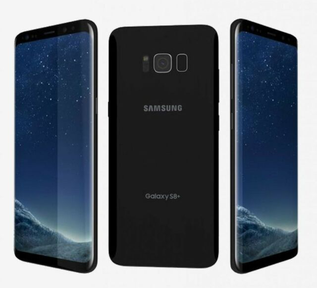 New Overstock Samsung Galaxy S8+ Plus SM-G955U 64GB Black for Verizon Network