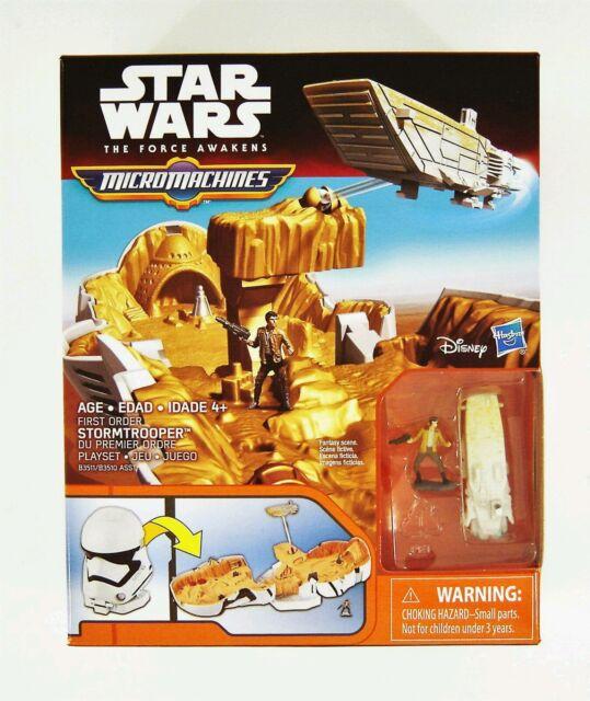 Star Wars The Force Réveille Micro Machines R2-D2 Playset Fantasy scène jouet NEUF
